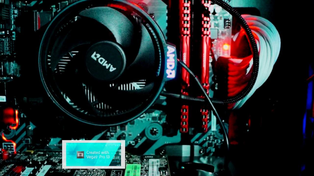 B350 TOMAHAWK EZ-DEBUG RYZEN 1700 CPU LED