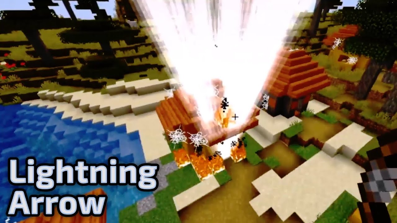 Minecraft: Lightning Arrow With Command