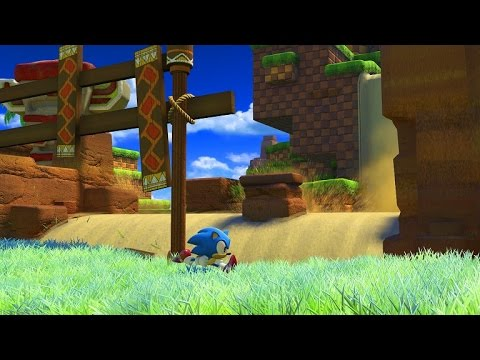 Sonic Forces | Classic Sonic – Green Hill Zone Gameplay
