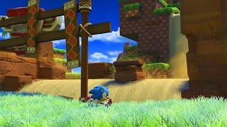 Sonic Forces | Classic Sonic - Green Hill Zone Gameplay by : SEGA Europe