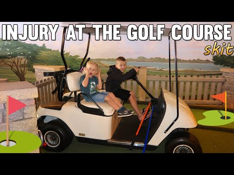 Trouble at the Kid Golf Course |