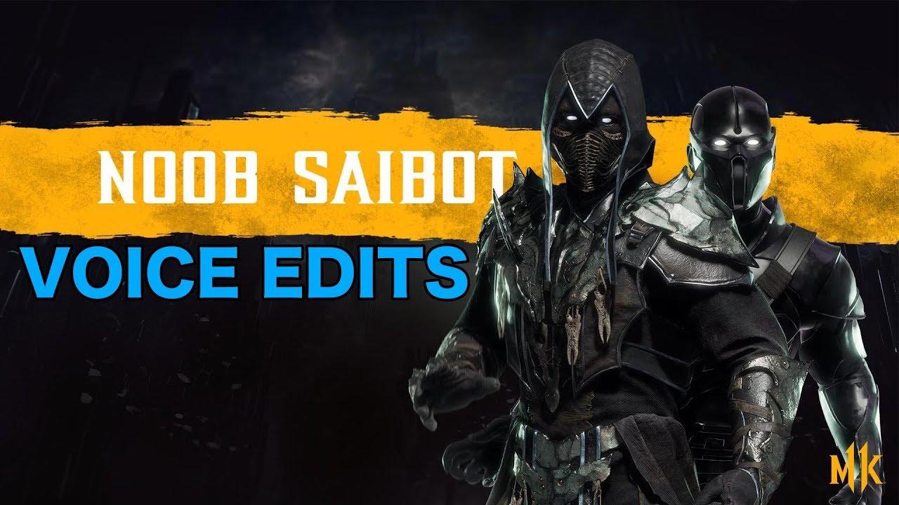 Mortal Kombat 11 - How Noob Saibot's Voice Should Sound Like (Noob Saibot  Voice Edit)