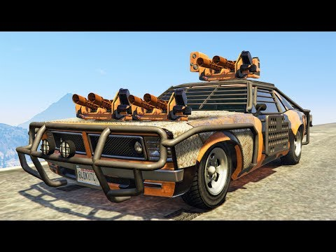 Generate ULTIMATE $6,995,000 NEW SUPER WEAPON CAR! (GTA 5 Gun Running DLC) Pics