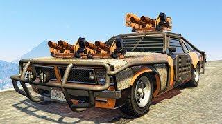 ULTIMATE $6,995,000 NEW SUPER WEAPON CAR! (GTA 5 Gun Running DLC)