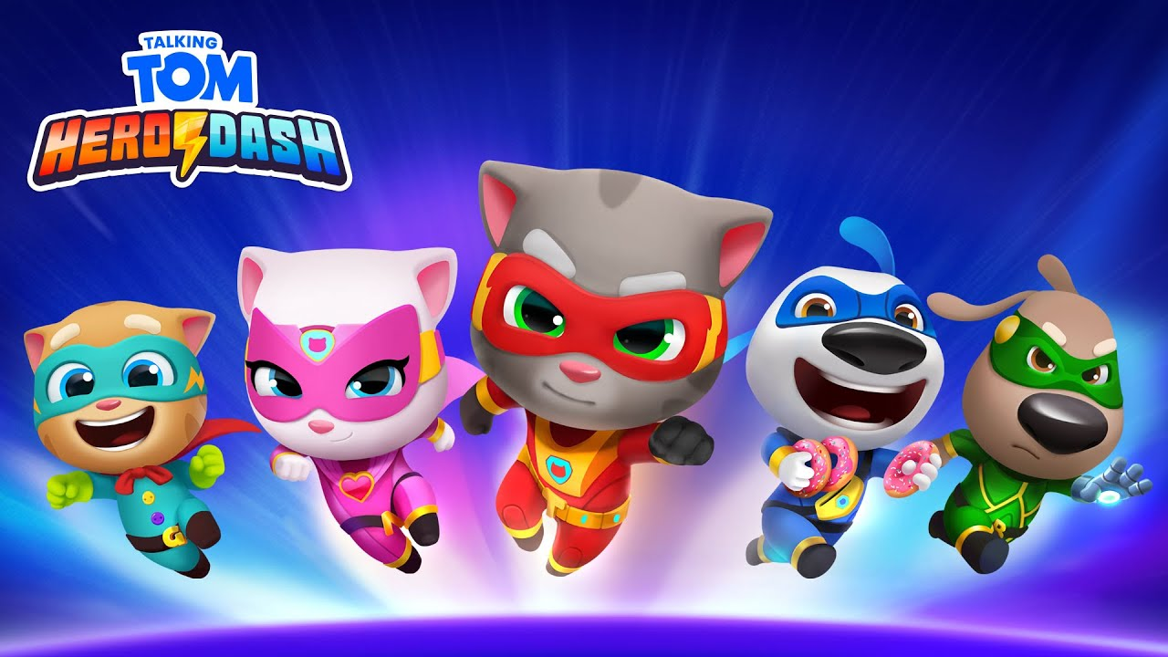 💥⚡ALL the Superpowers in Talking Tom Hero Dash (NEW Gameplay)