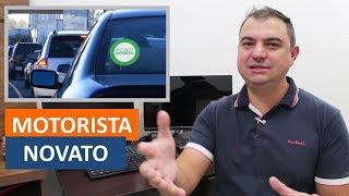 Adesivo de Identificação no Veículo de Motorista Novato - QUAL A SUA OPINIÃO