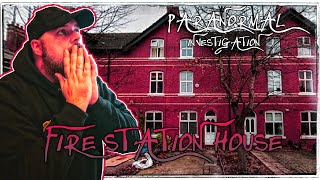 SCARY PARANORMAL ACTIVITY at FIRE STATION HOUSE   PARANORMAL INVESTIGATION - WE NEED ANSWERS!