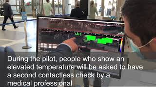 LAX Terminal Wellness Pilot - Testing Thermal Imaging Cameras to Help You Travel Safely at LAX