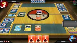 Pokemon Trading Card Game Online Match #1 - ReshiramEmboar Deck vs Lost World!