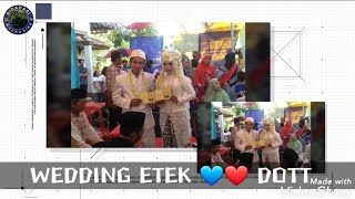 AKU TENANG - FOURTWNTY ( Piano ) WEDDING ETEK 💙❤ DOTT