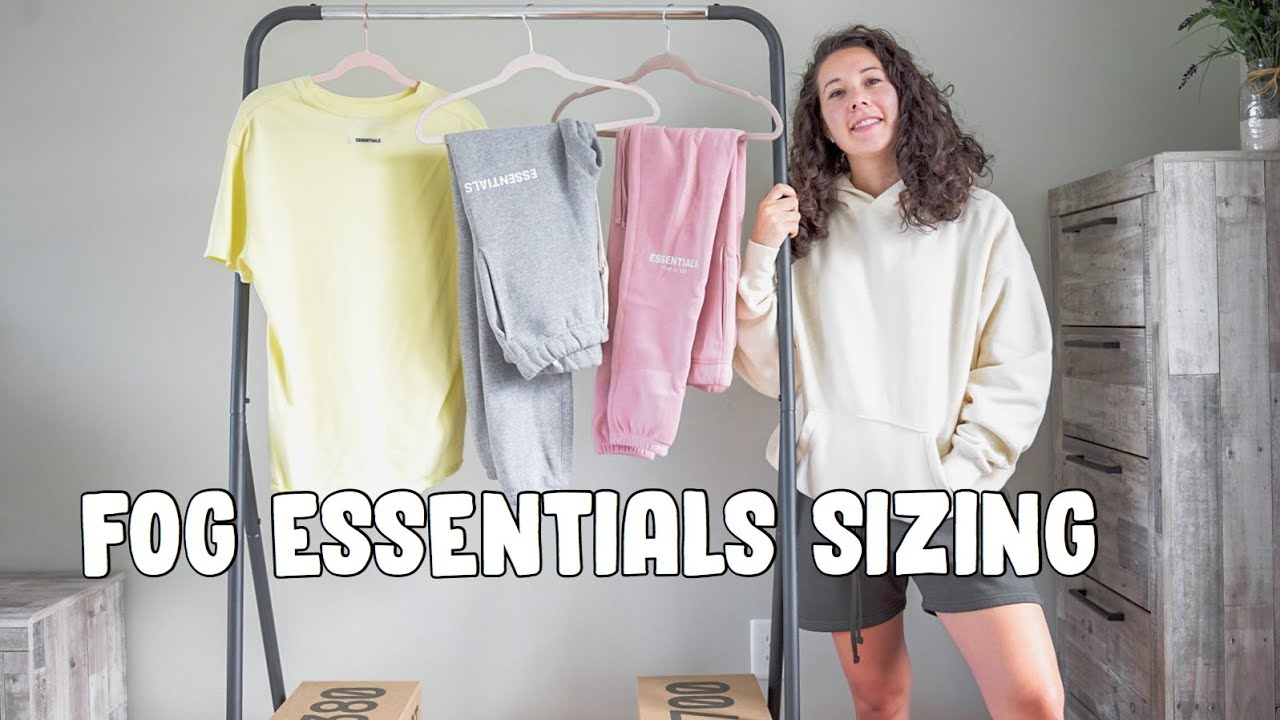 FOG ESSENTIALS COLLECTION / SIZING INFORMATION