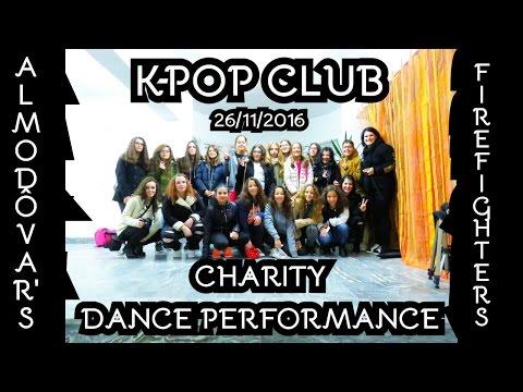 KPOP CLUB - ALMODÔVAR'S FIREFIGHTERS CHARITY DANCE PERFORMANCE 26-11-2016