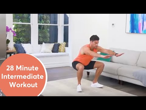 Intermediate 28 Minute Workout : Eye of the Tiger