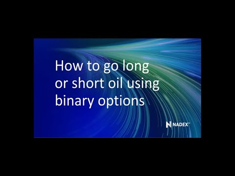 Trading crude oil with binary options