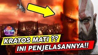 KRATOS MATI ?? Berikut Penjelasan Matinya Kratos di God of War 3 & Cerita Asal Usul Dibalik Hidupnya