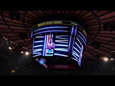 New York Knicks 2016-2017 Intro (vs. Atlanta Hawks)