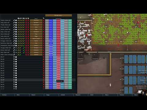 Games For Malcolm - RimWorld - Welsh - Industrial Farming