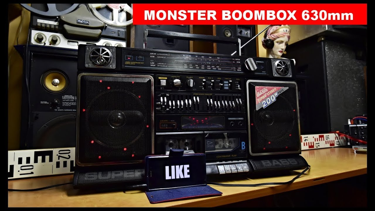 intersound scr j83we monster jumbo disco boombox elta 6874 supertech j 8383 cougar 8383 dl