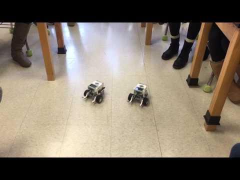 Voorhees Middle School STEM robot dance