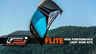 Ocean Rodeo Flite - Light Wind Kite, 30% Lighter!
