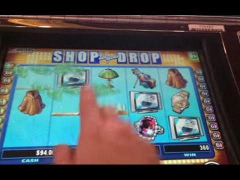 LIVE PLAY on Shop 'till you Drop Slot Machine