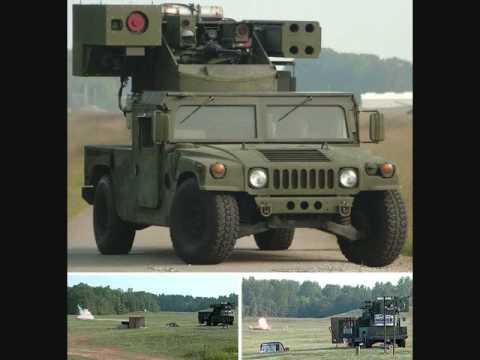 Boeing Tests Laser-Mounted Humvee-Worlds 1st