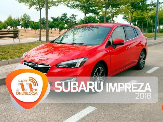 Subaru Impreza 2018 / Al volante / Prueba dinámica / Review / Supermotoronline.com