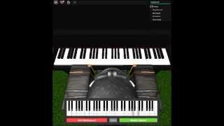 Numb - Linkin Park on a ROBLOX piano