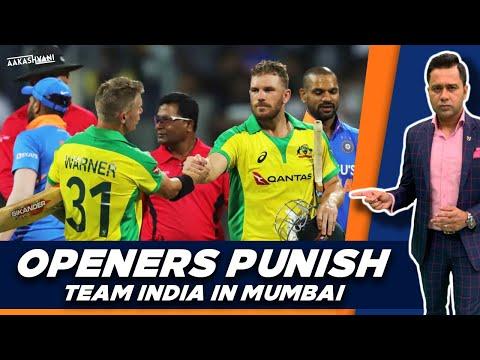 Australia OPENERS PUNISH India In Mumbai | #AakashVani | #INDvsAUS 1st ODI Review