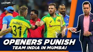 Australia OPENERS PUNISH India in Mumbai   #AakashVani   #INDvsAUS 1st ODI Review