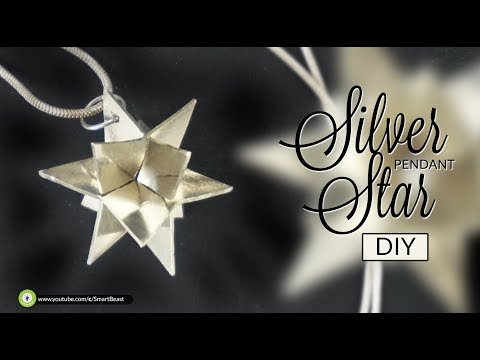 DIY simplest Star Pendant. 3D effect