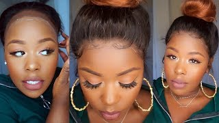  Step by Step  How to achieve a Natural hairline ft. Chinalacewig.com