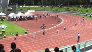 2012年 東海陸上選手権 4X100 女子 予選4組