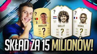 FIFA 19 l BUDOWANIE SKŁADU ZA 15 MILIONÓW COINSÓW! GULLIT & RONALDO! ULTIMATE TEAM