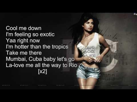 Priyanka Chopra - Exotic ft Pitbull ( Official Karaoke )