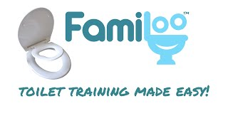 Toilet Training Seat by Familoo - Family Toilet Seat & Potty Training Seat
