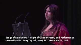 VIBC Songs of Revolution: A Night of Ghadar Poetry and Performance
