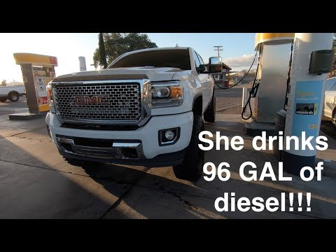 My 96 Gallon fuel tank