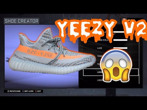 NBA2K17-HOW TO MAKE YEEZY 350 Boost V2 | HOW TO GET YEEZYS IN MYCARRER|HOW TO GET YEEZY FOR FREE !!!