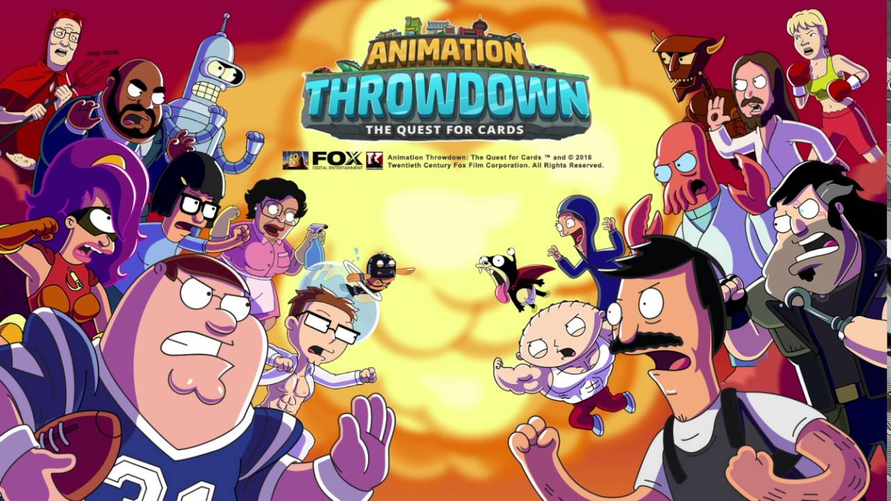 animation throwdown game