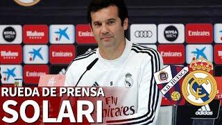 Huesca - Real Madrid | Rueda de prensa de Solari | Diario AS