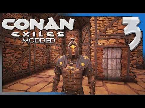 PREPPING FOR THE NORTH! | Modded Conan Exiles Gameplay/Let's