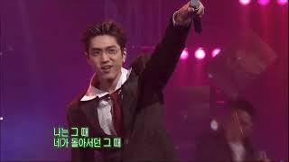 god(지오디) - 길 + 니가 있어야 할 곳 + 다시 (2002.02.24 (SBS 인기가요)