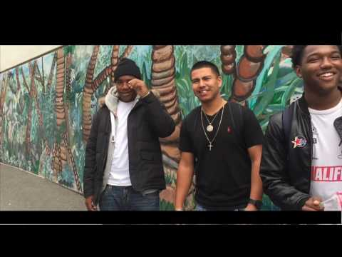 """Short Documentary: """"P.L.E/FYP Campaign"""" Oakland High Rappers"""