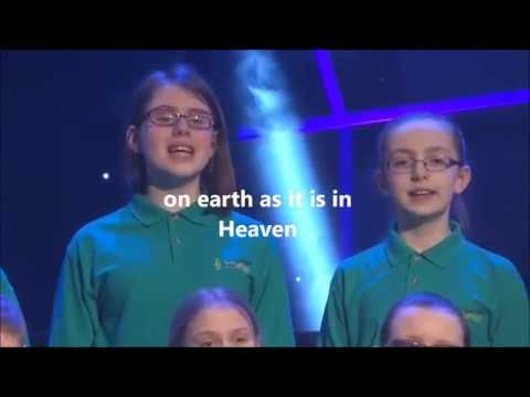 The Lord's prayer (African Sanctus) with Lyrics Lindley Jr School