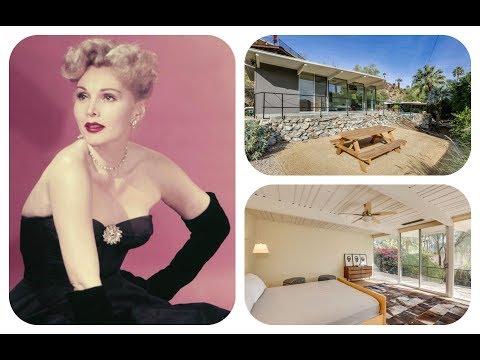 ★ Tour Zsa Zsa Gabor's Former Palm Springs House | HD