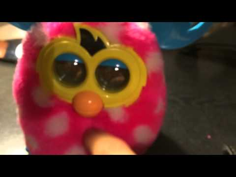 Furby switch on/off