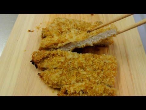 Non-fry tonkatsu recipe 揚げないとんかつ