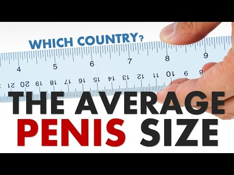 COUNTRIES WITH THE BIGGEST AVERAGE PENIS SIZE
