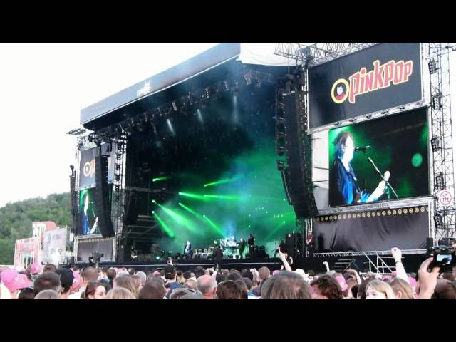 Pinkpop 2012 - The Cure met 'A Forest'